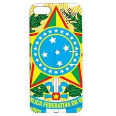 Coat of Arms of Brazil, 1971-1992 Apple iPhone 5 Hardshell Case with Stand