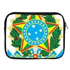 Coat of Arms of Brazil, 1971-1992 Apple iPad 2/3/4 Zipper Cases