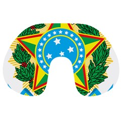 Coat of Arms of Brazil, 1971-1992 Travel Neck Pillows