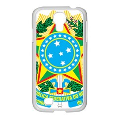 Coat of Arms of Brazil, 1971-1992 Samsung GALAXY S4 I9500/ I9505 Case (White)