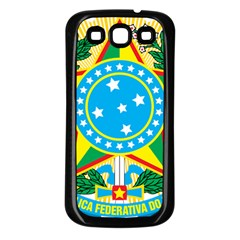 Coat of Arms of Brazil, 1971-1992 Samsung Galaxy S3 Back Case (Black)