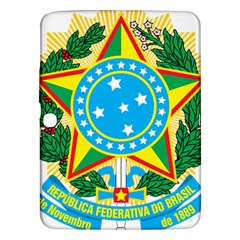 Coat of Arms of Brazil, 1971-1992 Samsung Galaxy Tab 3 (10.1 ) P5200 Hardshell Case