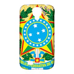 Coat of Arms of Brazil, 1971-1992 Samsung Galaxy S4 Classic Hardshell Case (PC+Silicone)