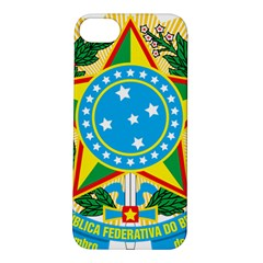 Coat of Arms of Brazil, 1971-1992 Apple iPhone 5S/ SE Hardshell Case