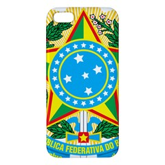 Coat of Arms of Brazil, 1971-1992 iPhone 5S/ SE Premium Hardshell Case