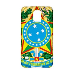 Coat of Arms of Brazil, 1971-1992 Samsung Galaxy S5 Hardshell Case