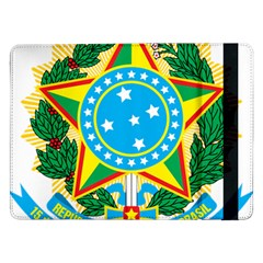 Coat of Arms of Brazil, 1971-1992 Samsung Galaxy Tab Pro 12.2  Flip Case