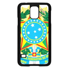 Coat of Arms of Brazil, 1971-1992 Samsung Galaxy S5 Case (Black)