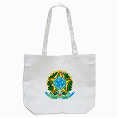 Coat of Arms of Brazil, 1971-1992 Tote Bag (White)