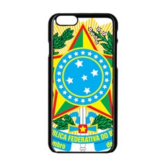 Coat of Arms of Brazil, 1971-1992 Apple iPhone 6/6S Black Enamel Case