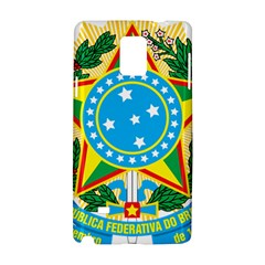 Coat of Arms of Brazil, 1971-1992 Samsung Galaxy Note 4 Hardshell Case