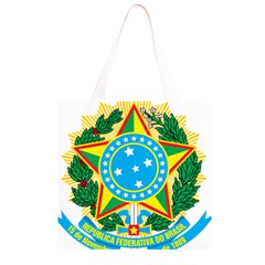Coat of Arms of Brazil, 1971-1992 Grocery Light Tote Bag