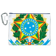 Coat of Arms of Brazil, 1971-1992 Canvas Cosmetic Bag (XL)