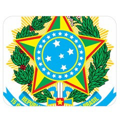 Coat of Arms of Brazil, 1971-1992 Double Sided Flano Blanket (Medium)