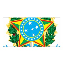 Coat of Arms of Brazil, 1971-1992 Satin Shawl
