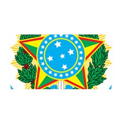 Coat of Arms of Brazil, 1971-1992 Satin Wrap