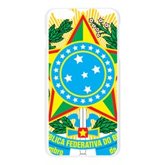 Coat of Arms of Brazil, 1971-1992 Apple Seamless iPhone 6 Plus/6S Plus Case (Transparent)