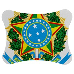 Coat of Arms of Brazil, 1971-1992 Jigsaw Puzzle Photo Stand (Bow)