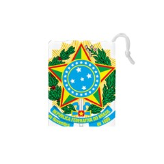 Coat of Arms of Brazil, 1971-1992 Drawstring Pouches (XS)