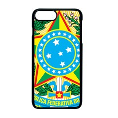 Coat of Arms of Brazil, 1971-1992 Apple iPhone 7 Plus Seamless Case (Black)
