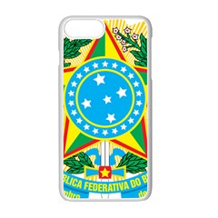 Coat of Arms of Brazil, 1971-1992 Apple iPhone 7 Plus White Seamless Case