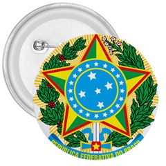 Coat of Arms of Brazil, 1968-1971 3  Buttons
