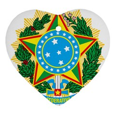 Coat of Arms of Brazil, 1968-1971 Ornament (Heart)