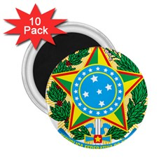 Coat of Arms of Brazil, 1968-1971 2.25  Magnets (10 pack)