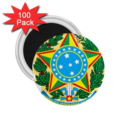 Coat of Arms of Brazil, 1968-1971 2.25  Magnets (100 pack)