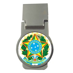 Coat of Arms of Brazil, 1968-1971 Money Clips (Round)
