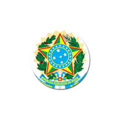Coat of Arms of Brazil, 1968-1971 Golf Ball Marker (4 pack)