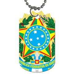 Coat of Arms of Brazil, 1968-1971 Dog Tag (Two Sides)