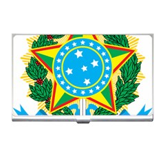 Coat of Arms of Brazil, 1968-1971 Business Card Holders