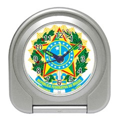 Coat of Arms of Brazil, 1968-1971 Travel Alarm Clocks