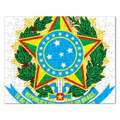 Coat of Arms of Brazil, 1968-1971 Rectangular Jigsaw Puzzl