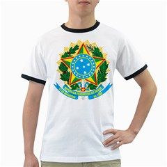 Coat of Arms of Brazil, 1968-1971 Ringer T-Shirts