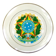 Coat of Arms of Brazil, 1968-1971 Porcelain Plates