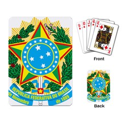 Coat of Arms of Brazil, 1968-1971 Playing Card