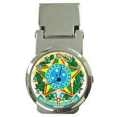Coat of Arms of Brazil, 1968-1971 Money Clip Watches