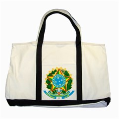 Coat of Arms of Brazil, 1968-1971 Two Tone Tote Bag