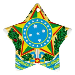 Coat of Arms of Brazil, 1968-1971 Star Ornament (Two Sides)
