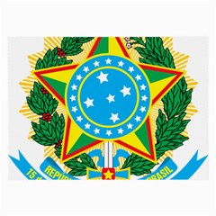 Coat of Arms of Brazil, 1968-1971 Large Glasses Cloth