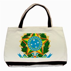 Coat of Arms of Brazil, 1968-1971 Basic Tote Bag (Two Sides)