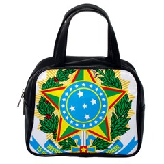 Coat of Arms of Brazil, 1968-1971 Classic Handbags (One Side)
