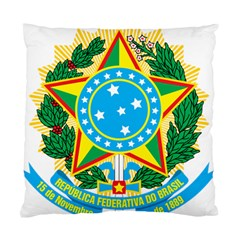 Coat of Arms of Brazil, 1968-1971 Standard Cushion Case (One Side)