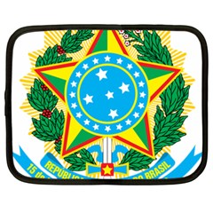 Coat of Arms of Brazil, 1968-1971 Netbook Case (XXL)