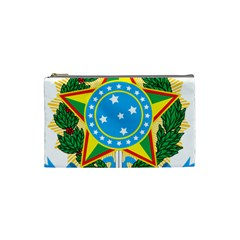 Coat of Arms of Brazil, 1968-1971 Cosmetic Bag (Small)