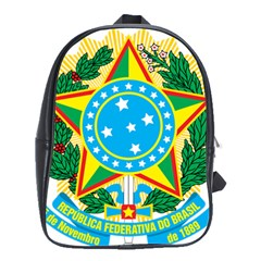 Coat of Arms of Brazil, 1968-1971 School Bags(Large)