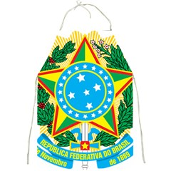 Coat of Arms of Brazil, 1968-1971 Full Print Aprons