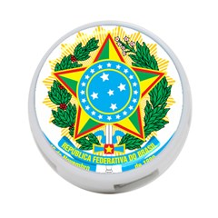 Coat of Arms of Brazil, 1968-1971 4-Port USB Hub (Two Sides)